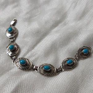 Jewelry - Southwestern sterling silver bracelet